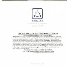(CE251) The Violets, Troubles of Kineat - 2007 DJ CD