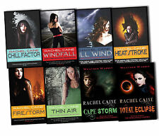 Rachel Caine Weather Warden Series 8 Books Collection Pack Set Thin Air WindFall