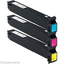 3-Pack Toner Set for Konica Minolta BizHub C250 C252 C252p C250p TN210 TN-210