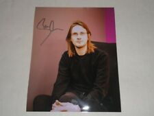 STEVEN WILSON SIGNED 11X14 PHOTO PORCUPINE TREE AUTOGRAPHED PROOF