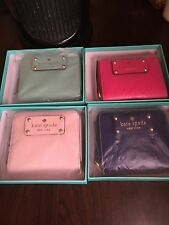 Kate Spade Wellesley Cara Wallet Fresh Air Zip Around Small Stacy Coin Purse
