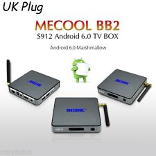 BB2 Set-top Box Amlogic S912  Bit Android 6.0 2.4G+5G 4.0 KODI 17.0 UK PLUG