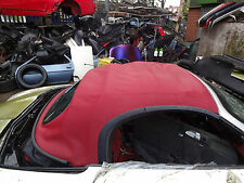 Porsche Boxster 987 Gen 2 Red Convertible Roof     987-2 Red Cabriolet Roof