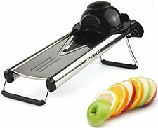 Spring Kitchen - Premium V-Blade Stainless Steel Mandoline Food Slicer Cutter...