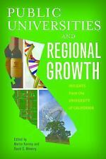 Innovation and Technology in the World E: Public Universities and Regional...
