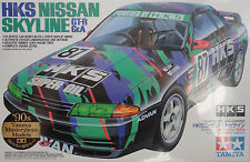 "Tamiya ""HKS"" Nissan Skyline GT-R Gr.A 1/24 Scale Plastic Model Kit 24135"