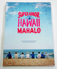 SUPER JUNIOR - Memory In Hawaii [MAHALO] 200p Photobook+DVD+Mouse Pad+Poster