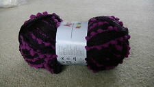 Katia Rocio Scarf Wool kitting yarn colour 503 purple/pink