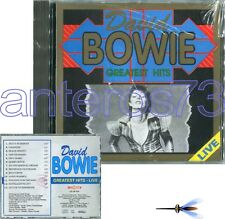 "DAVID BOWIE ""GREATEST HITS - LIVE"" RARE CD ITALY ONLY 1993 - SEALED"