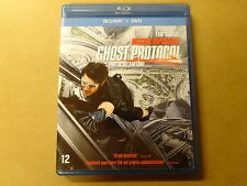 BLU-RAY + DVD / MISSION IMPOSSIBLE -  GHOST PROTOCOL / PROTOCOLE FANTOME