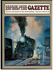 Narrow Gauge and Short Line Gazette : May/June 1995: Volume 21 Number 2