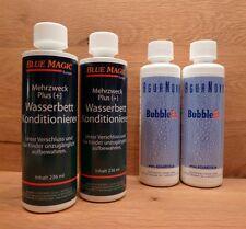 2 Blue Magic Konditionierer/2 Agua Nova Bubble Ex,Wasserbettpflege,stoppt Luft