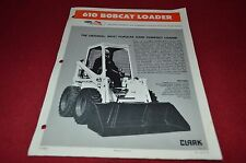 Bobcat 610 Skid Steer Dealers Brochure DCPA2