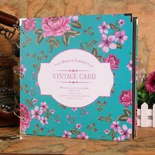 """Vintage Card"" Big Cute DIY Photo Album Mommy Book Baby Wedding Polaroid Album"