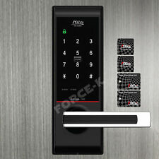 Digital Türschloss MILRE MI-5200S schloss TÜRSCHLOß Passwort + 4 RF Karte 2Way