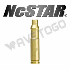 NcSTAR .223 Rem Red Laser Cartridge Bore Sighter Dot 5.56 Scope Rifle Firearms