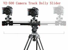 V2-500 Camera Track Dolly Slider Rail Video Stabilizer for DSLR -DV Camcorder