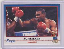 (100) 1991 KAYO OLIVER MCCALL BOXING CARDS #182 ~ WINSTON-SALEM NC ~ HUGE LOT!!!