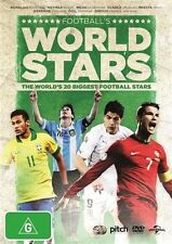 FOOTBALL'S WORLD STARS - THE WORLDS 20 BIGGEST FOOTBALL STARS REG 4 NEW & SEALED
