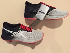 ASICS Men's Shoes fuzeX Lyte Light Gray/Flash Coral - Size 10.5