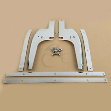 Chrome Windshield Windscreen Bracket Mounting For Harley Touring Road King 94-Up