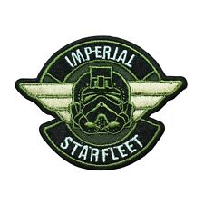 "Star Wars Empire ""Imperial Starfleet"" Iron-On Patch Tie-Fighter Pilot Applique"