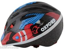OXFORD BICYCLE CYCLE BIKE CHILDS ZOOM KIDS JUNIOR HELMET BLACK 46-50cm
