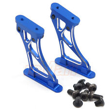 Slidelogy Aluminium Adjustable Rear Spoiler Mount Blue 1:10 RC Car #SDY-0074BL