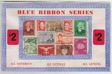 B5464: (8060) Norway Stamps in Packets; LOOK!!
