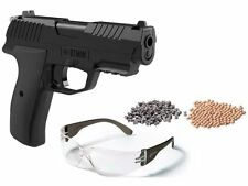 Crosman Iceman CO2 BB and Pellet Pistol Kit - 0.177 cal - Semiauto DA/SA Glasses