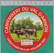 J304 FROMAGE CAMEMBERT VICQ SU NAHON INDRE