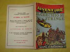 AVVENTURE DI DOMANI  EDIZIONI MONDIALI  NUMERO 45 DEL 5 NOVEMBRE 1958