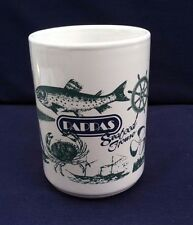Large Oversized Coffee Mug Pappa's Seafood House Travel Souvenir Restaurant Good