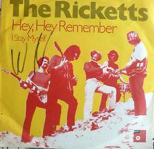 """7"""" 1968 BEAT MINT- BASF ! THE RICKETTS Hey Hey Remember"""