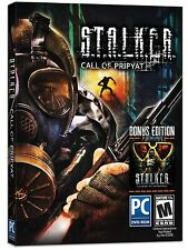 S.T.A.L.K.E.R. Call of Pripyat - Bonus Edition (PC-DVD NEW Factory Sealed)