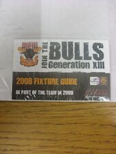 2008 Rugby League: Bradford Bulls 2008 Fixture Guide.  Thanks for taking the tim