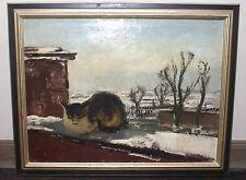 Carl Weisgerber, Gemälde Katze, 1923, CONZEN Rahmen