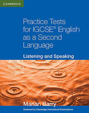Practice Tests for IGCSE English as a Second Language: Listening and Speaking Bo