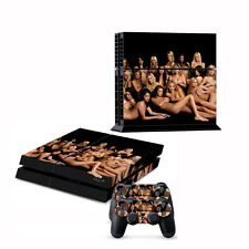 Sexy Girl Skin Sticker For PS4 Playstation 4 Console+Controller Vinyl Decal #43