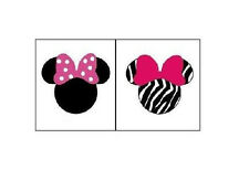 Disney Minnie Mouse Nail Decals Set of 20 - Assorted