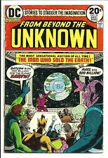 FROM BEYOND THE UNKNOWN # 25 (LAST ISSUE, NOV 1973), VG+
