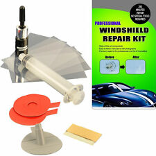 Windshield Chip Crack Repair Kit DIY Auto Windscreen Car Glass Kit With MANUAL