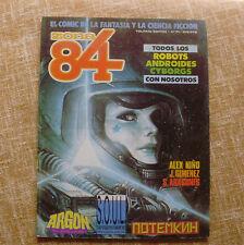 Comic, Zona 84, número 71, Toutain Editor, 1984, Alex Niño, J. Gimenez