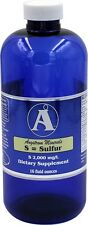 Sulfur 16oz. - Liquid Mineral