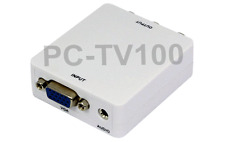 Computer VGA to Composite RCA Video Audio Converter 2048x1536 Pixels