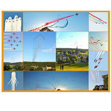"The Red Arrows over Chatsworth House - 6""x8"" Montage print of 12 stunning photos"
