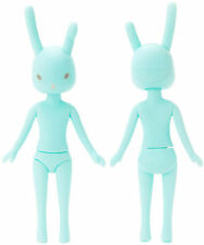 "Petworks Usagii 005 Normal Face Grey Eyes Mint Green Rabbit Bunny Nude 8"" Doll"
