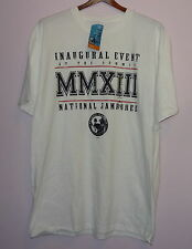 NWT Boys Scouts Of America 2013 National Jamboree T Shirt White XL