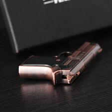 Pistol Gun  Shape Refillable Butane Gas Lighter Cigarette Jet +Tracking