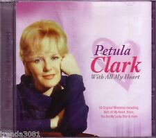 PETULA CLARK With All Heart 2CD Classic 60s Anthology SONNY BOY TENNESSEE WALTZ
